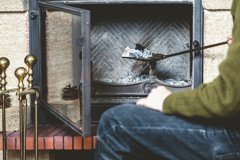wear the right clothing for chimney cleaning DIY