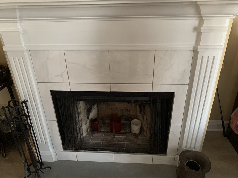 Fireplace inspection done by Sootaway Daphne