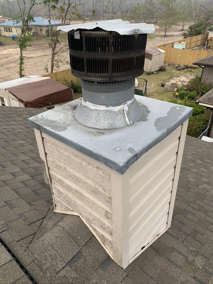 Navarre chimney cap repair