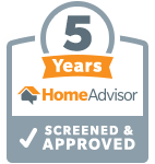 Sootaway Screened & Approved by Home Advisor for 5 years award