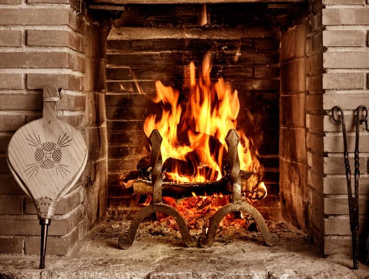 FIre in chimney