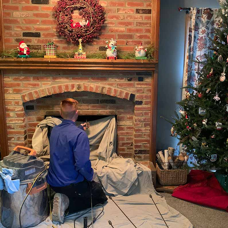 At Home Cleaning Tips for Your Chimney